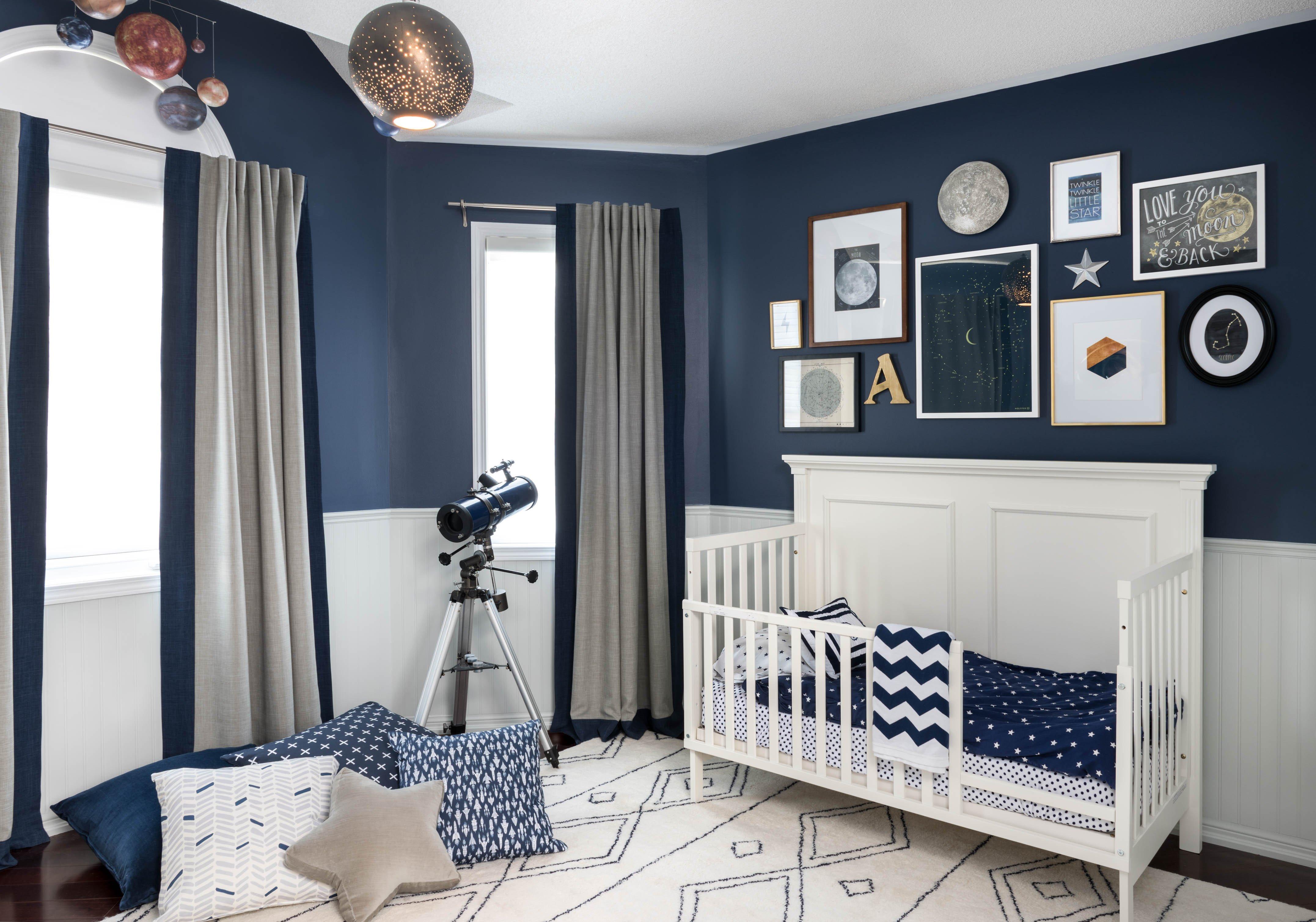 Room Decor Ideas for Boys Awesome Celestial Inspired Boys Room Project Nursery