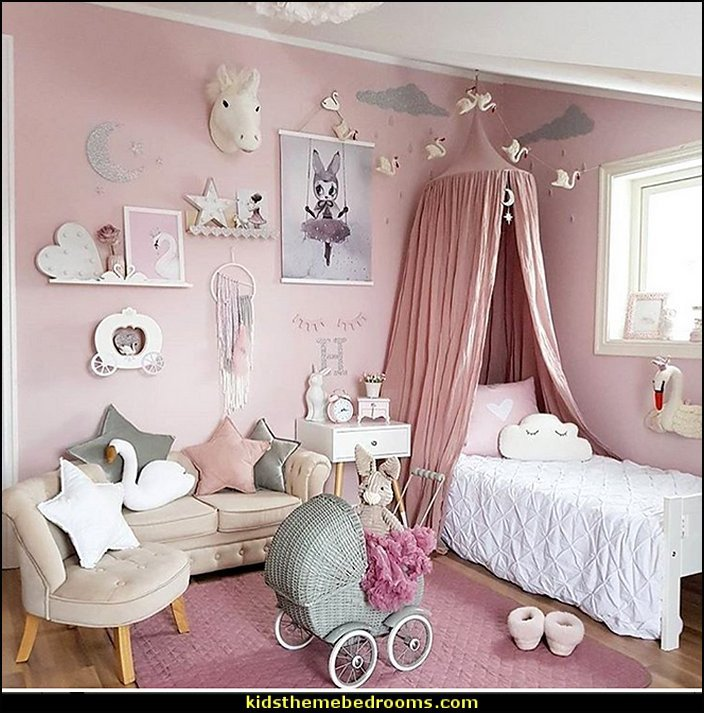Room Decor Ideas for Girl Beautiful Decorating theme Bedrooms Maries Manor Girls Bedrooms Girls theme Bedroom Decorating Ideas