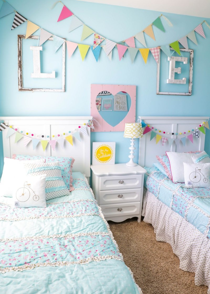 Room Decor Ideas for Girls Lovely Decorating Ideas for Kids Rooms