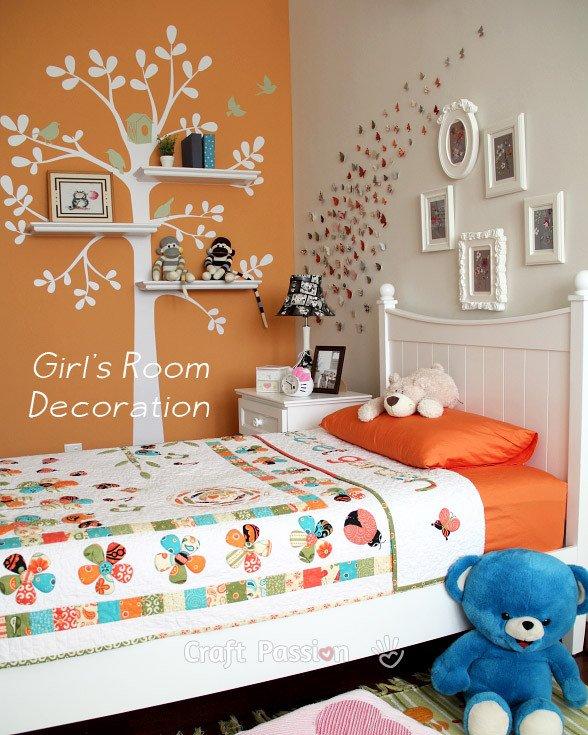 Room Decor Ideas for Girls Lovely Girl S Bedroom Decoration Ideas Home Decor