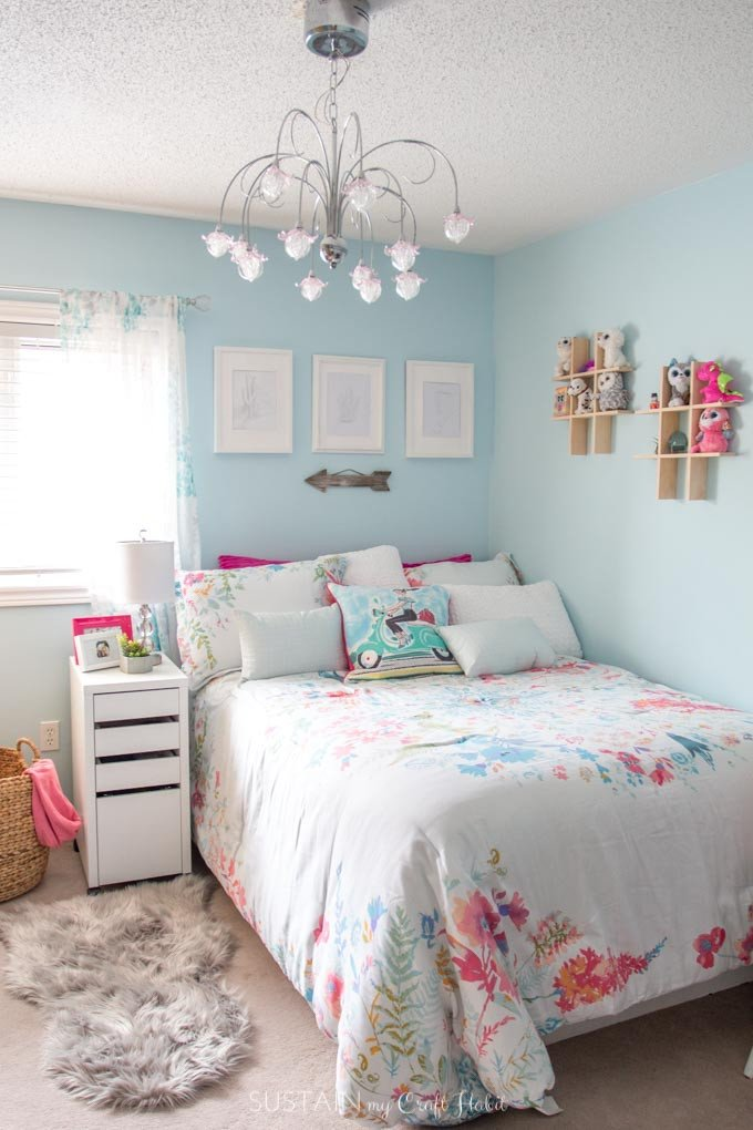 Tween Bedroom Ideas in Teal and Pink MyColourJourney – Sustain My Craft Habit
