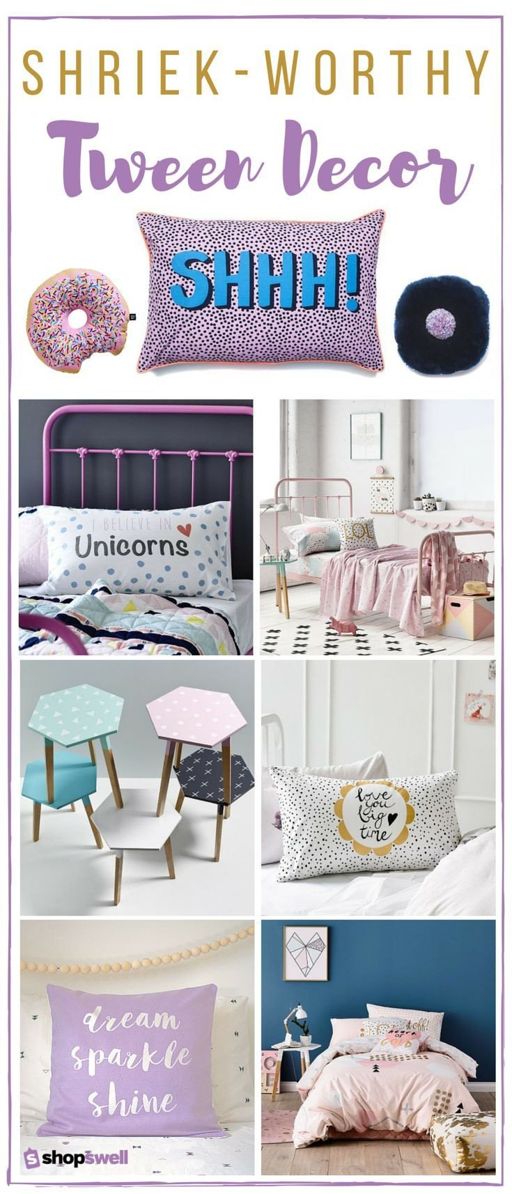 Room Decor Ideas for Tweens Best Of 26 Shriek Worthy Decor Essentials for the Tween Bedroom Home Decor & Furniture