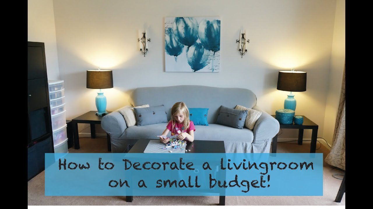 Room Decor On A Budget Lovely How to Decorate A Living Room On A Really Small Bud