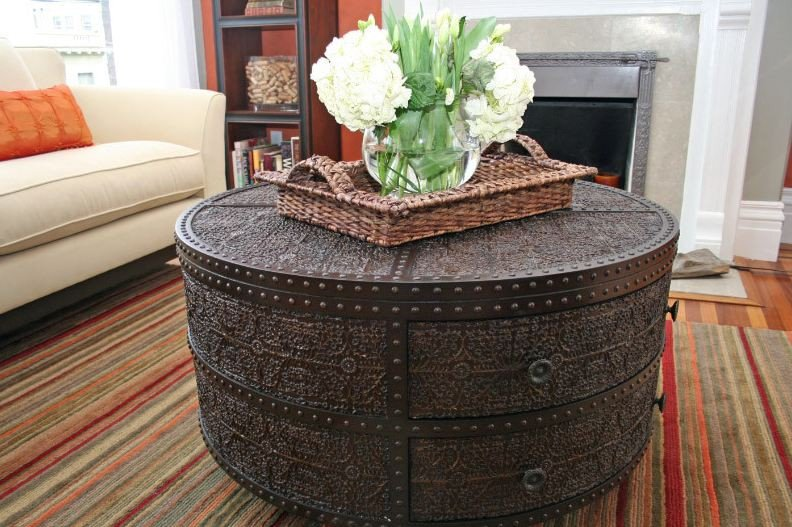 Round Coffee Table Decor Ideas Awesome Decorating A Round Coffee Table Kelly Bernier Designs