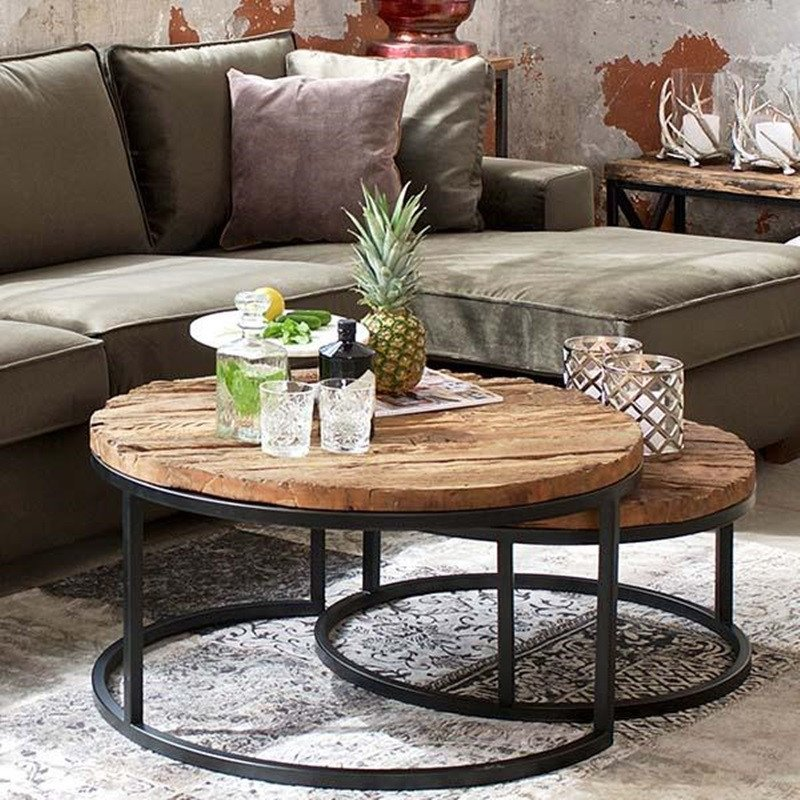 Round Coffee Table Decor Ideas New Decorated Round Coffee Tables Easy Home Decorating Ideas