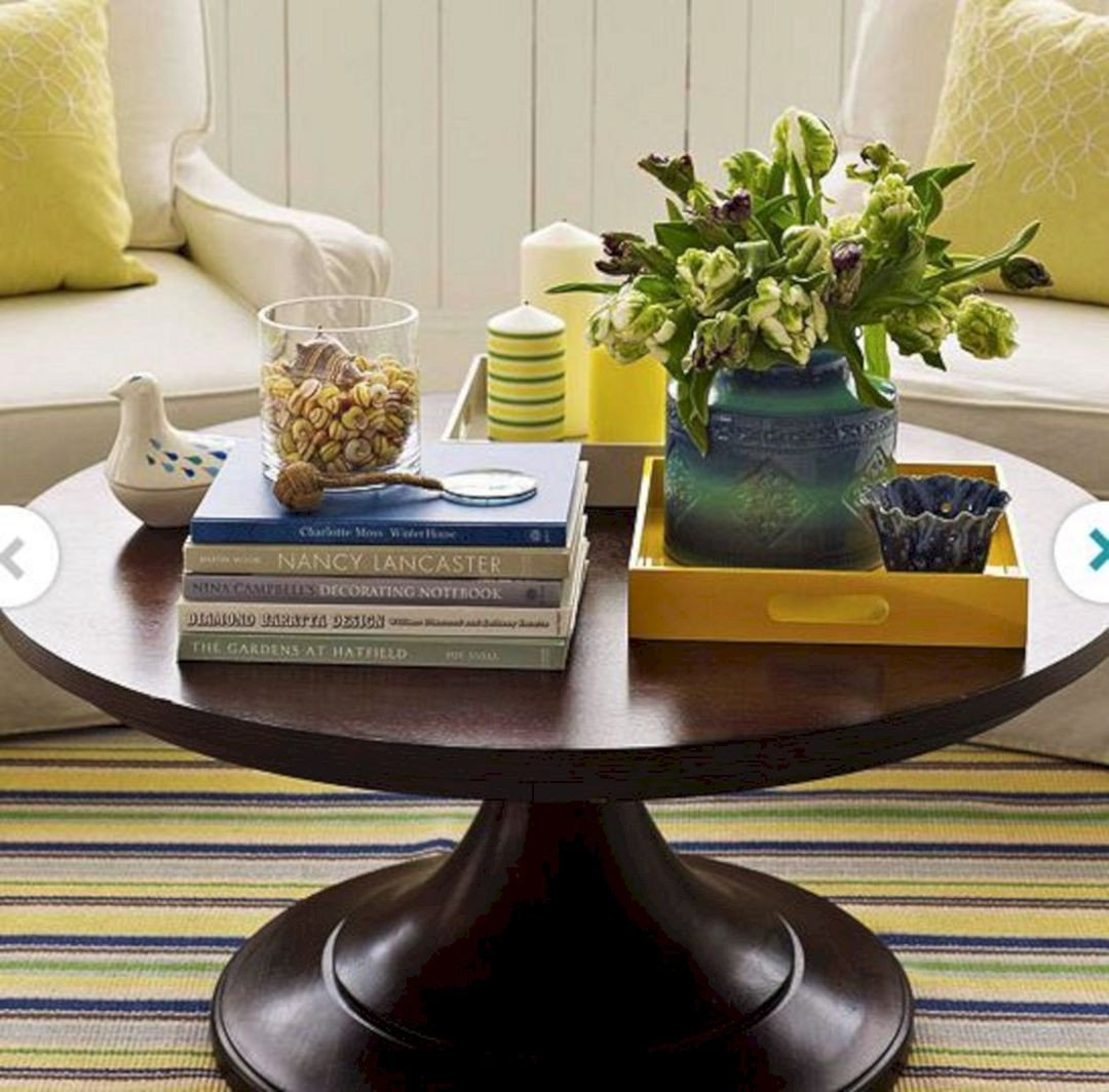 Round Coffee Table Decor Ideas New Round Coffee Table Decor Round Coffee Table Decor Design Ideas and Photos