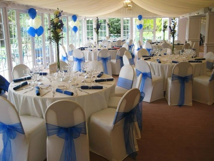 Royal Blue Decor for Weddings Awesome Royal Blue Wedding Decor Wedding Pinterest