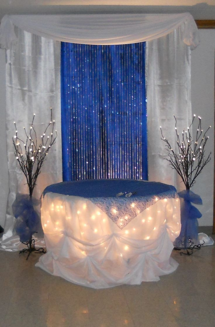 Royal Blue Decor for Weddings Awesome Royal Blue Wedding Decorations