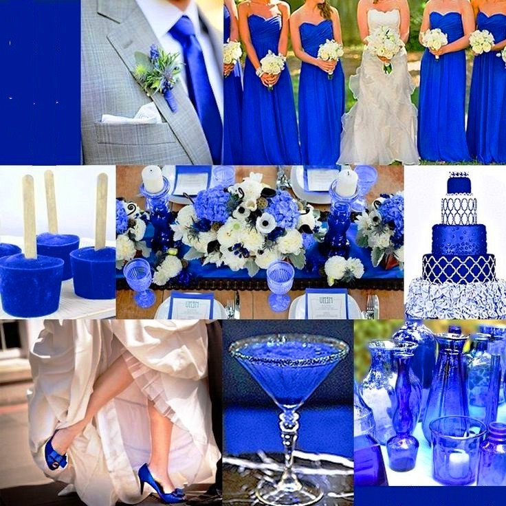 Royal Blue Decor for Weddings Beautiful Royal Blue Wedding Decor