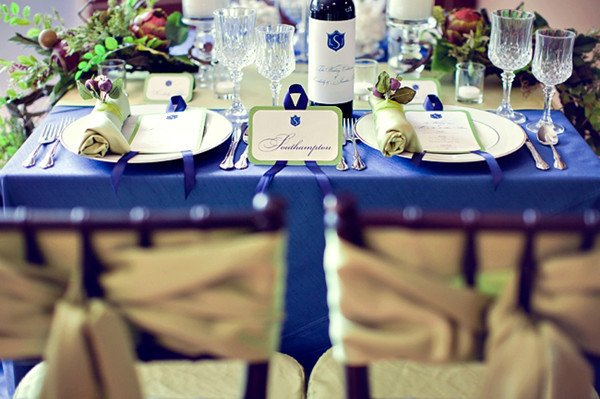 Royal Blue Decor for Weddings Fresh Most Popular Fall Wedding Colors Of 2014