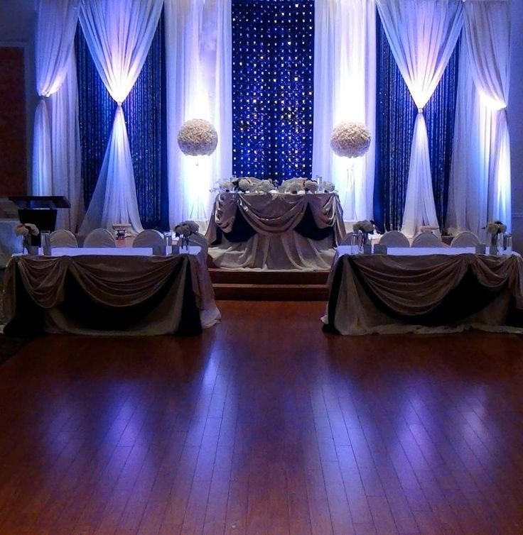 Royal Blue Decor for Weddings Lovely Royal Blue Wedding Decor