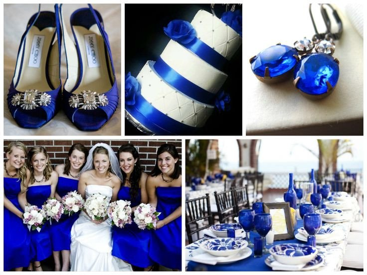Royal Blue Decor for Weddings Lovely Royal Blue Wedding Inspiration Fall Winter Wedding Ideas