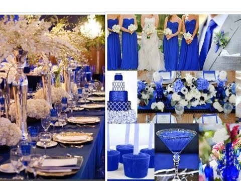 Royal Blue Decor for Weddings New Royal Blue Wedding Ideas