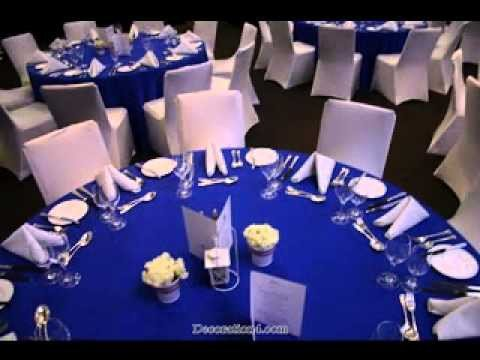 Royal Blue Decor for Weddings Unique Great Royal Blue Wedding Decorations Ideas