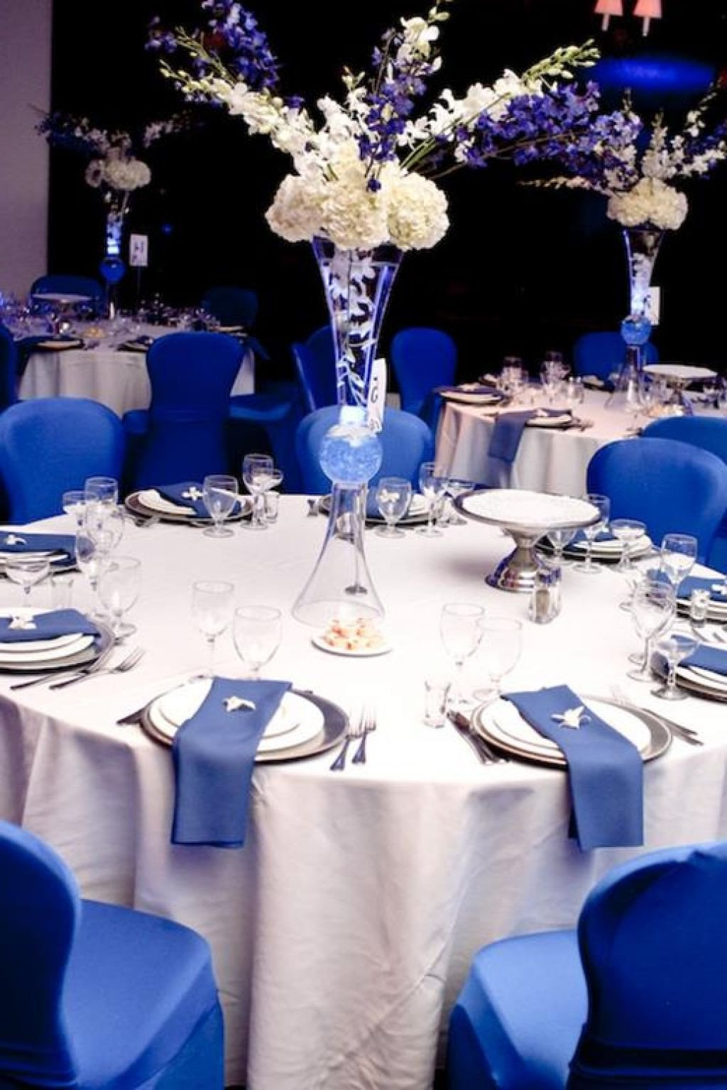 Royal Blue Decor for Weddings Unique Wedding Dresses with Royal Blue Accents Google Search Reception