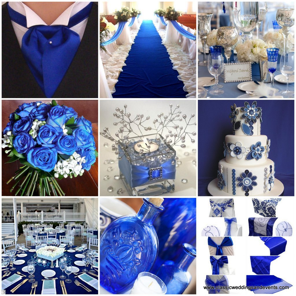 Royal Blue Wedding Decor Ideas Fresh Classic Weddings and events Royal Blue Wedding Ideas