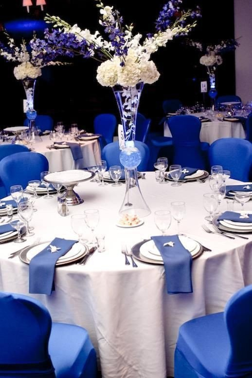 Royal Blue Wedding Decor Ideas New 37 Fabulous Royal Blue Wedding Decorations Ideas Wedding Colors