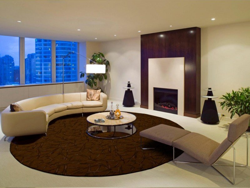 Rugs Contemporary Living Room Elegant Tips to Choose Modern Rugs for Living Room