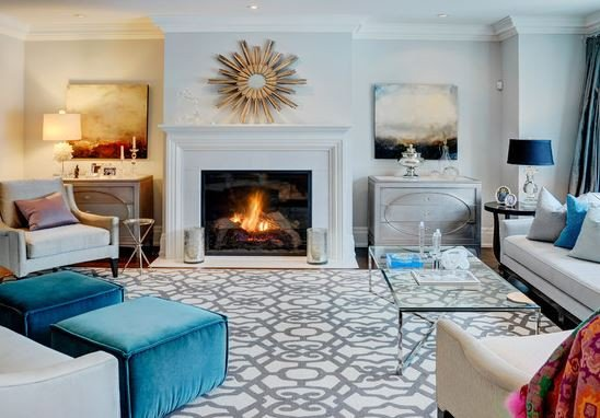 Rugs Contemporary Living Room Inspirational area Codes Bold Rugs for Bold Rooms