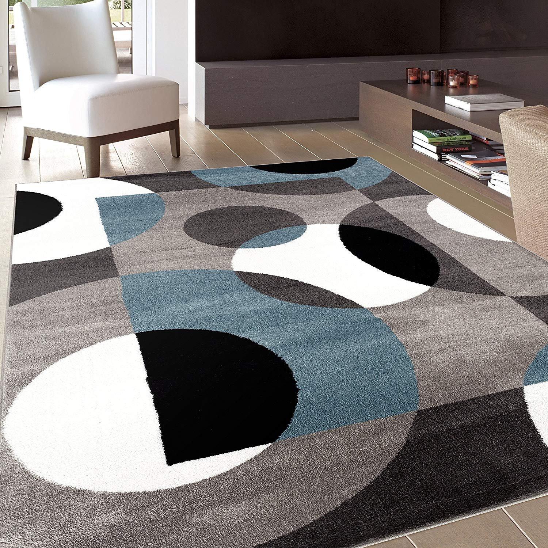 Rugs Contemporary Living Room Inspirational area Rug Modern Carpet Circles Designer Rug Living Room Dining Room Design