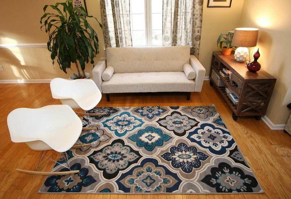 Rugs Contemporary Living Room Inspirational Rugs area Rug Carpet Floor Modern Blue Living Room Beige Contemporary New