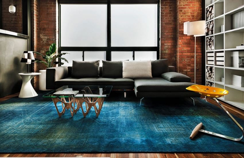 Rugs Contemporary Living Room Luxury 10 Rooms with Overdyed Rugs