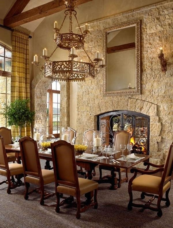 Rustic Dining Room Wall Decor Fresh Tuscan Decor – Charming and Romantic Interior Designs In Rustic Style
