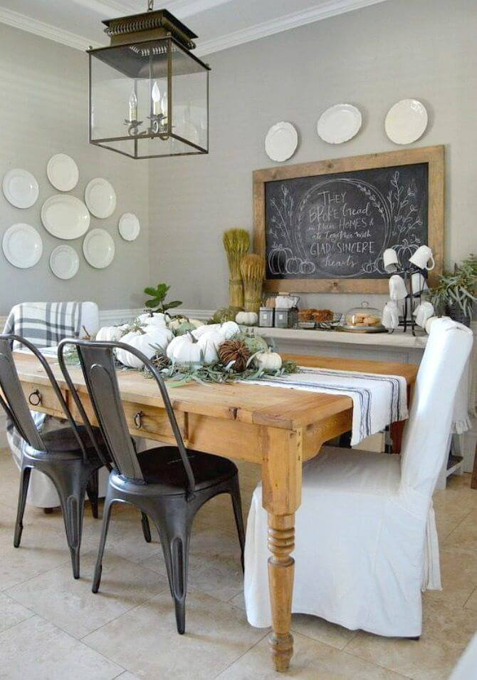 Rustic Dining Room Wall Decor New 37 Best Farmhouse Dining Room Design and Decor Ideas for 2017