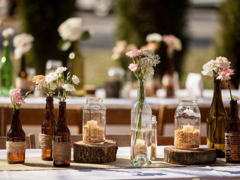 Rustic Table Decor for Wedding Inspirational Rustic Wedding Decor