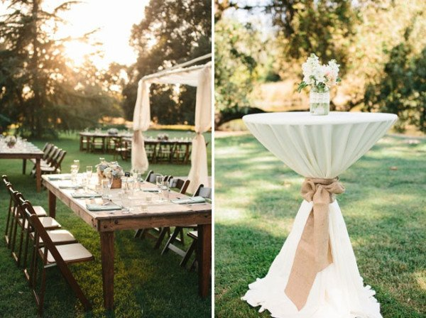 Rustic Table Decor for Wedding Lovely Diy Backyard Wedding Ideas 2014 Wedding Trends Part 2