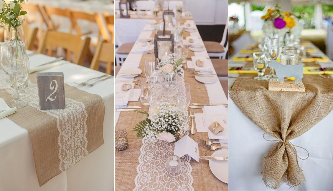 Rustic Table Decor for Wedding Unique 20 Rustic Burlap Wedding Table Decor Ideas