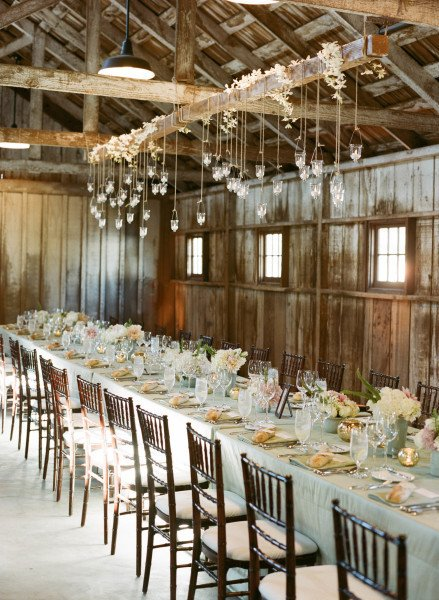 Rustic Table Decor for Wedding Unique 30 Romantic Indoor Barn Wedding Decor Ideas with Lights