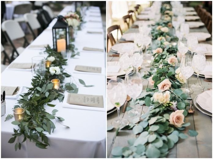 Rustic Table Decor for Weddings Elegant 18 Rustic Greenery Wedding Table Decorations You Will Love Chicwedd