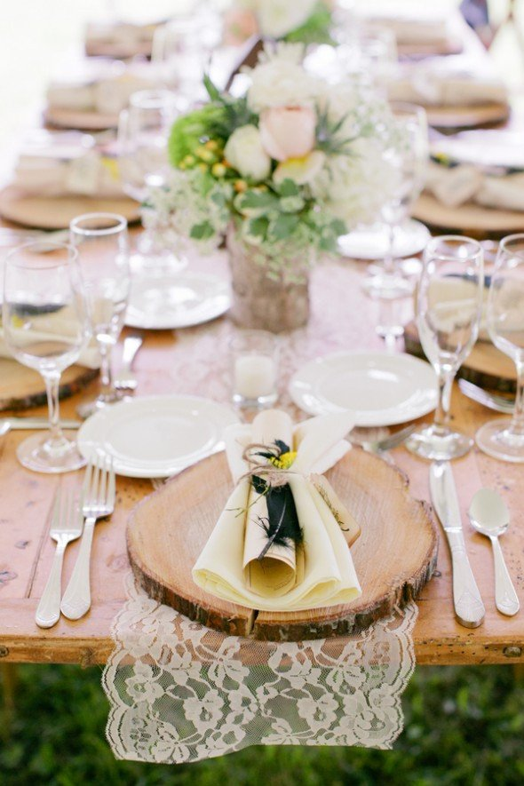 Rustic Table Decor for Weddings Elegant Rusticweddingchic