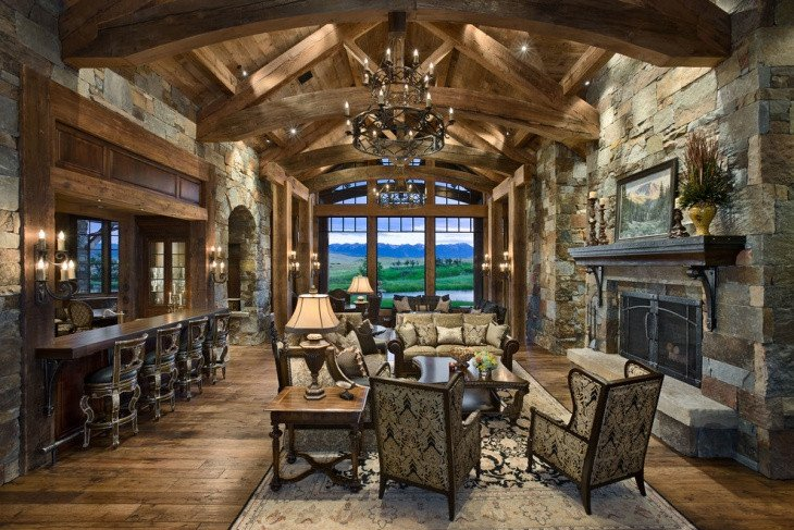 Rustic Traditional Living Room Beautiful 19 Rustic Living Room Designs Decorating Ideas