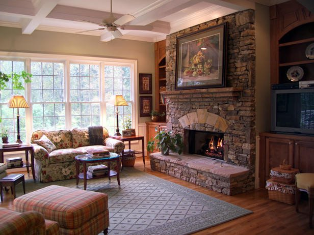 Rustic Traditional Living Room Lovely Traditional Living Space S