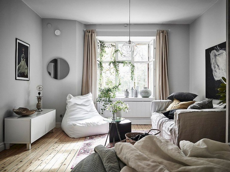 Scandinavian Decor On A Budget Inspirational 55 Awesome Studio Apartment with Scandinavian Style Ideas A Bud Page 5 Of 58