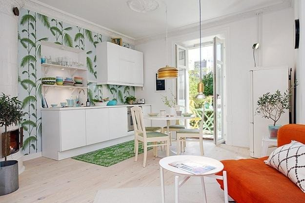Scandinavian Decor On A Budget Lovely Bright Interior Design On Small Bud Small Apartment Decorating In Scandinavian Style