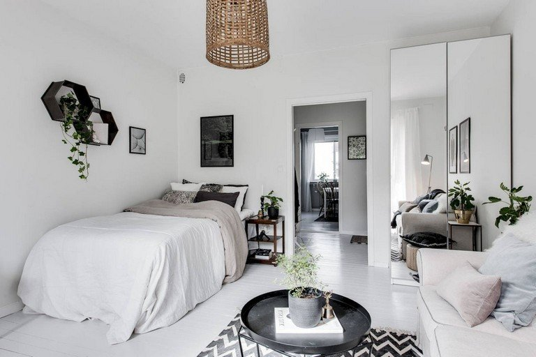 Scandinavian Decor On A Budget Luxury 55 Awesome Studio Apartment with Scandinavian Style Ideas A Bud Page 2 Of 58