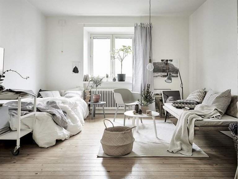 Scandinavian Decor On A Budget Unique 55 Awesome Studio Apartment with Scandinavian Style Ideas A Bud Page 4 Of 58