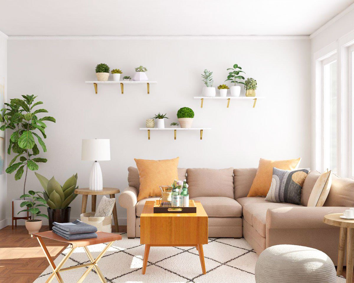 Simple Modern Living Room Decorating Ideas New 5 Simple Ways to Decorate with Plants