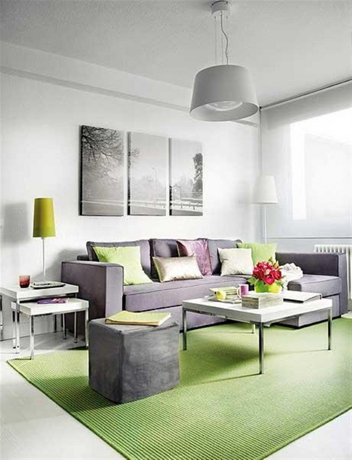Small Apartment Living Room Ideas Beautiful 15 Lime Green Living Room Designs