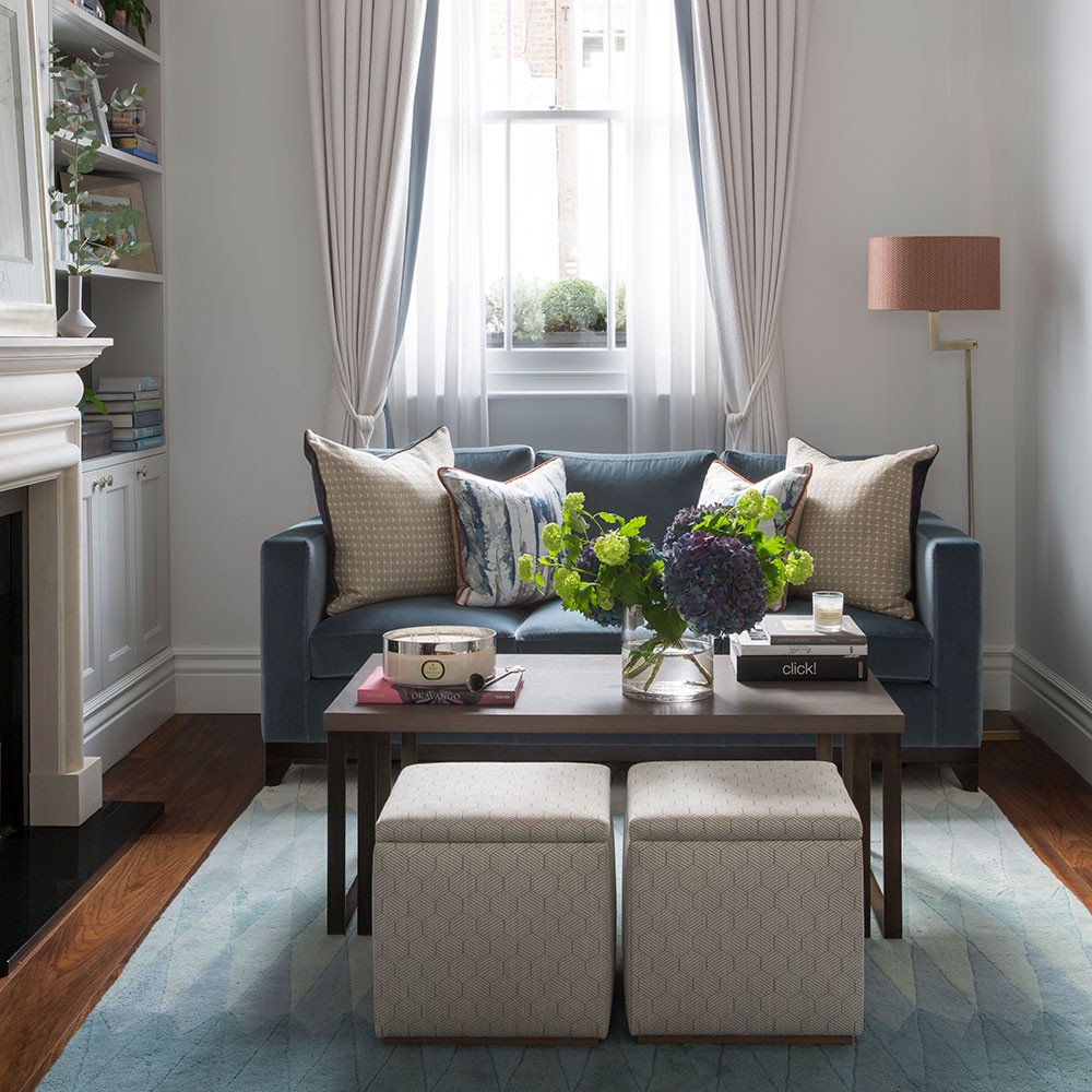 Small living room ideas – how to decorate a cosy and