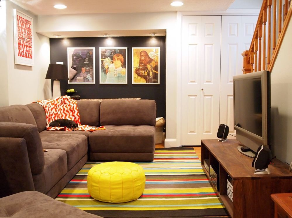 Small Basement Living Room Ideas Beautiful 15 Amazing Midcentury Basement Designs Furniture
