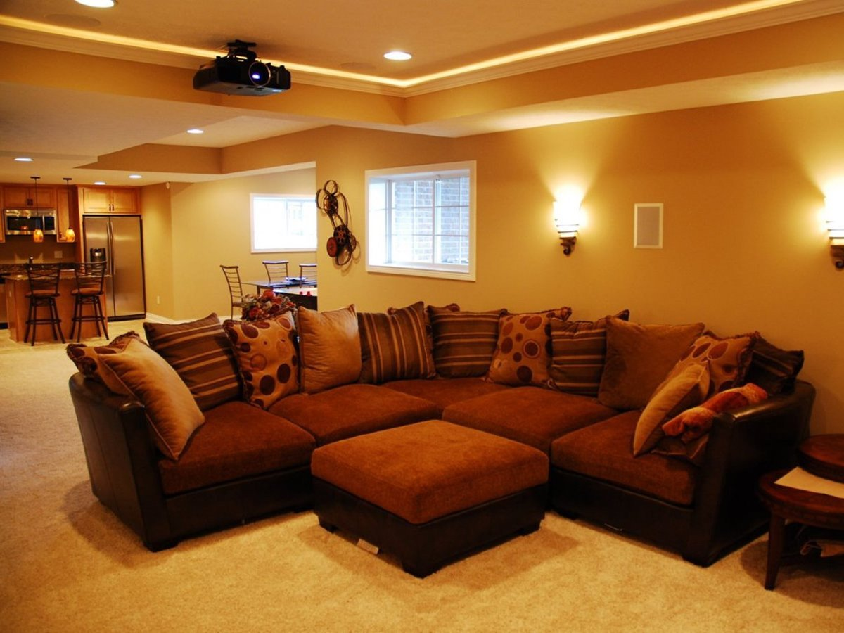 Basement Living Room Ideas Homeideasblog