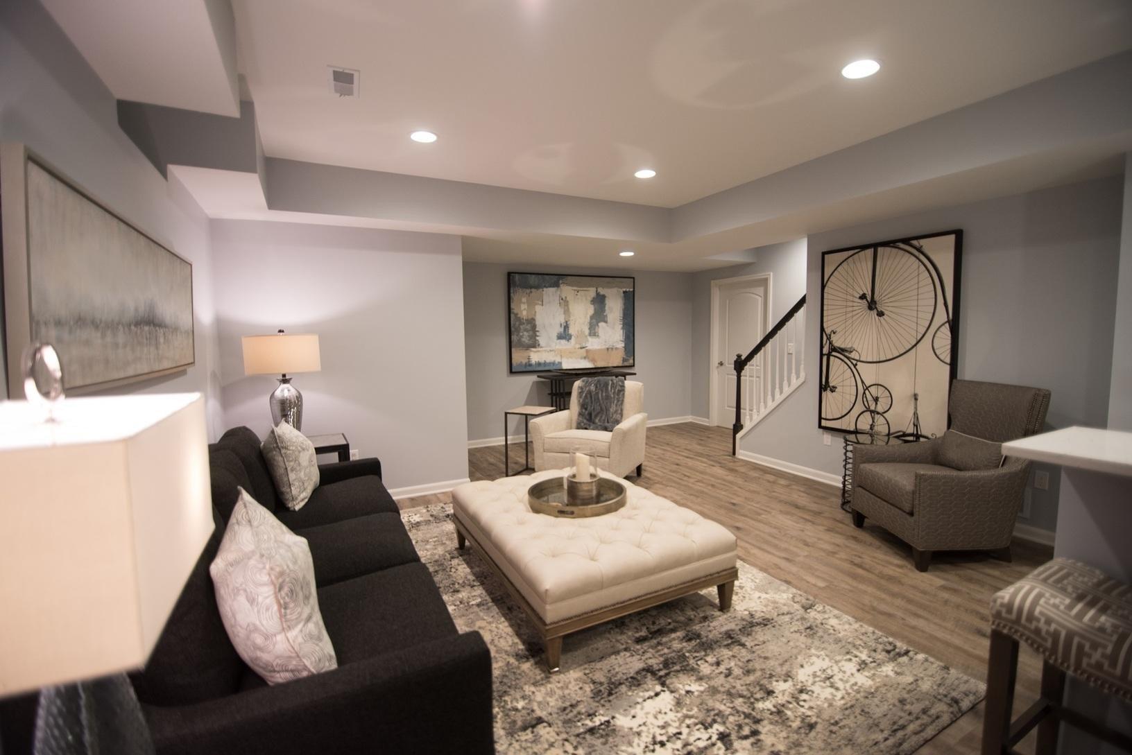 Small Basement Living Room Ideas Luxury Finished Basements Plus Album Luxurious Finished Basement In Novi Mi