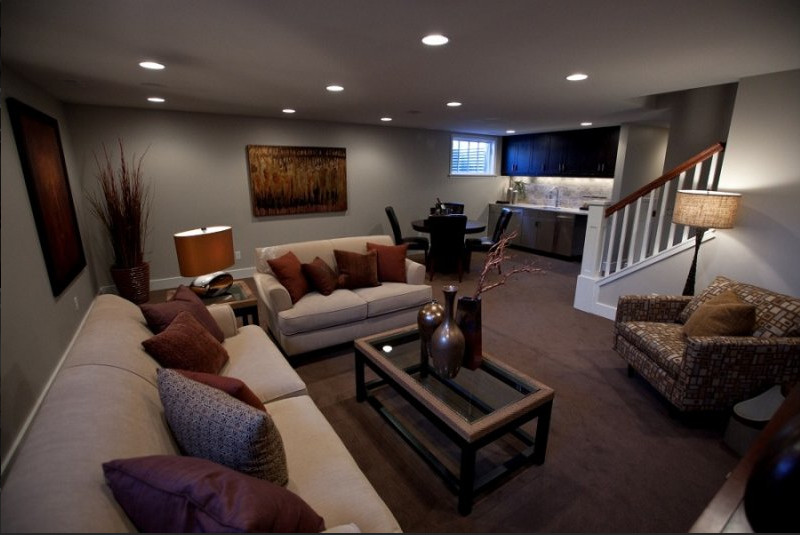 Small Basement Living Room Ideas New 30 Basement Remodeling Ideas & Inspiration