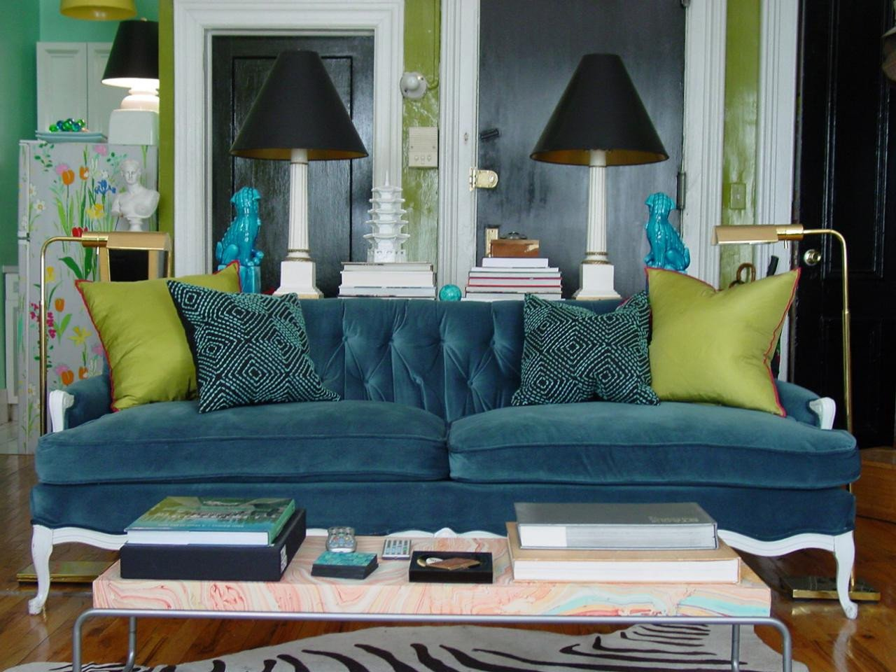 Small Blue Living Room Ideas Awesome 5 Small Room Rules to Break