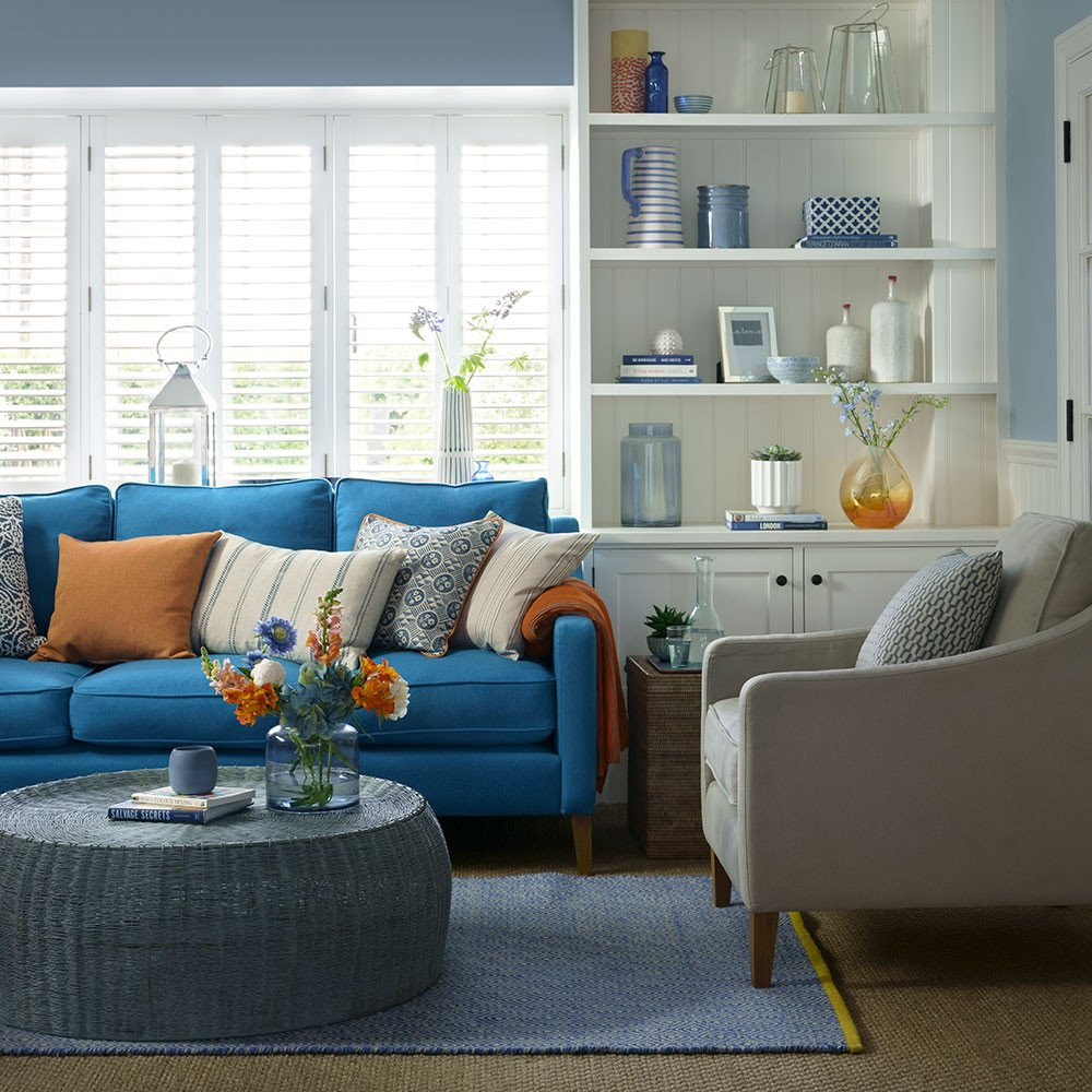 Small Blue Living Room Ideas Awesome Blue Living Room Ideas – From Midnight to Duck Egg See How sophisticated Blue Can Be