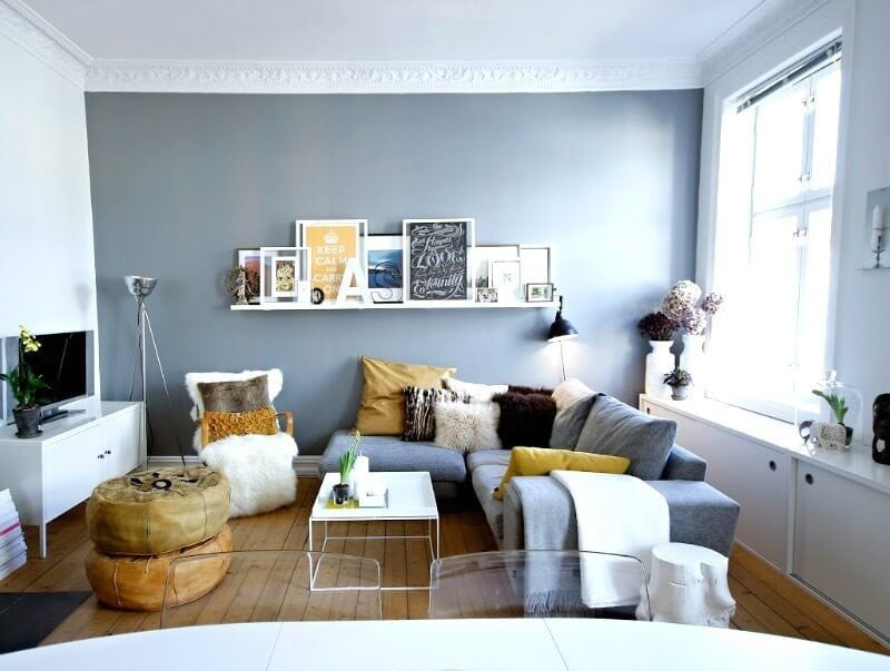 Small Blue Living Room Ideas Elegant How to Make Your Small Living Room Feel Colossal